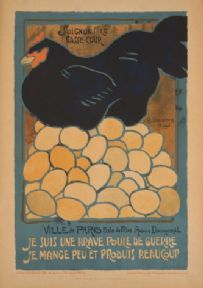 French WW1 poster - Soignons la basse-cour.
